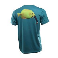 Patriot Elephant Fish Short Sleeve Performance Shirt