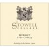 Stowell Cellars Merlot  2014 750ml