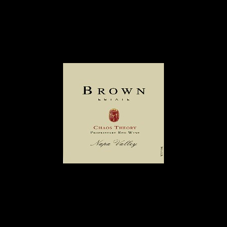 Brown Estate Vineyards Chaos Theory  2010 750ml