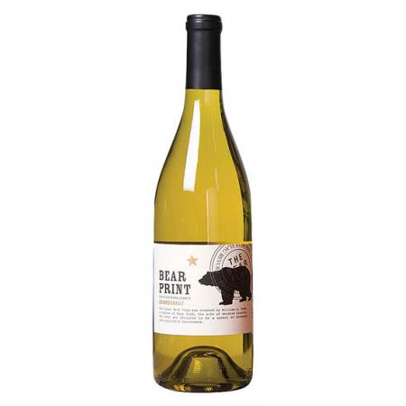 Bear Print Chardonnay Santa Barbera County  2011 750ml