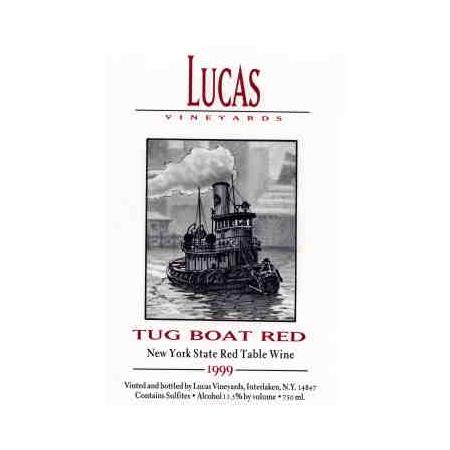 Lucas Tug Boat Red   750ml