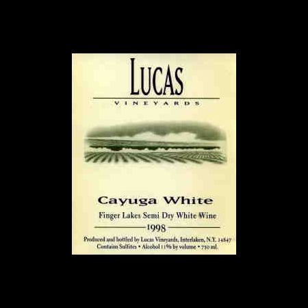 Lucas Cayuga White  NV 750ml