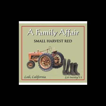 A Family Affair Small Harvest Red  2012 750ml