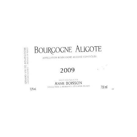 Anne Boisson Bourgogne Aligote  2012 750ml