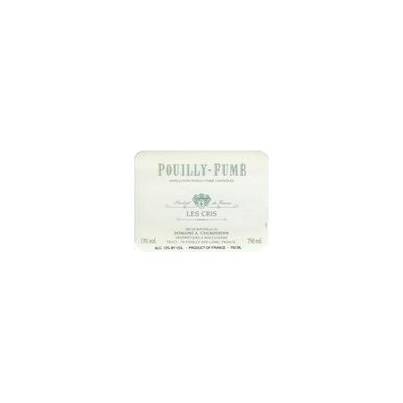 Cailbourdin Pouilly-Fume Les Cris  2013 375ml