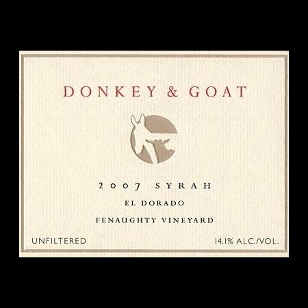 A Donkey And Goat Syrah Fenaughty  2011 750ml