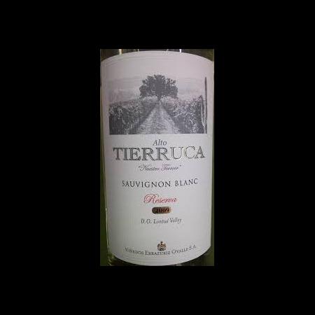 Alto Tierruca Sauvignon Blanc Reserve  2014 750ml