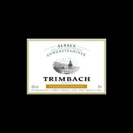 Alsace Willm Gewurztraminer Vendages Tardives Cuvee Emile  2009 750ml