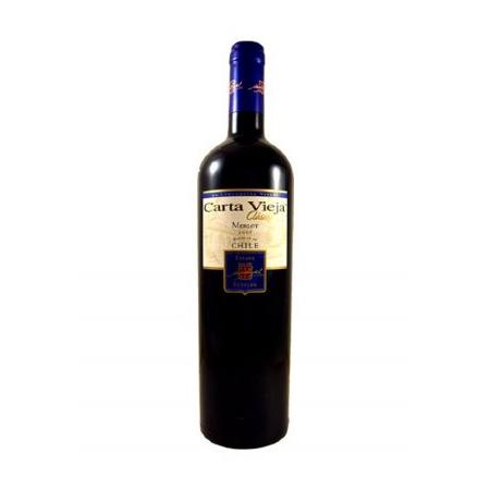 Carta Vieja Merlot Classic Vina  2014 1.5Ltr