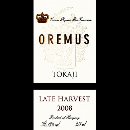 Oremus Tokaji Late Harvest Botrytis  2012 375ml