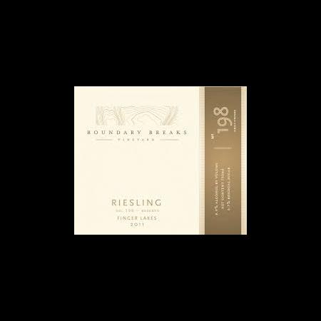 Boundary Breaks Riesling No.198-Reserve  2012 750ml