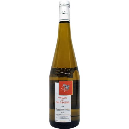 Domaine Du Haut Bourg Muscadet Cotes De Grandlieu  2014 750ml