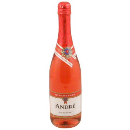 Andre Strawberry Sparkling Wine   750ml