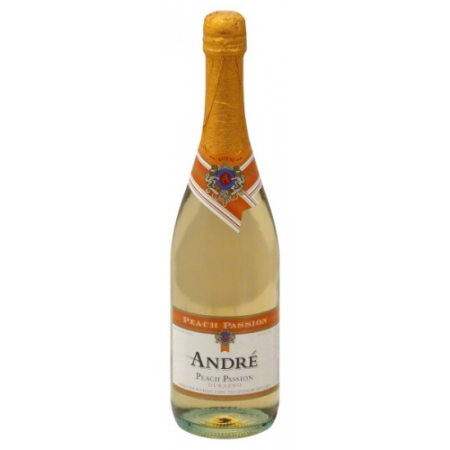 Andre Peach Passion Sparkling Wine   750ml