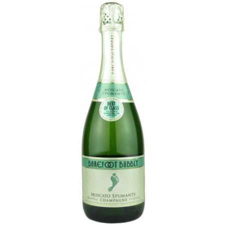 Barefoot Cellars Bubbly Moscato Spumante   750ml