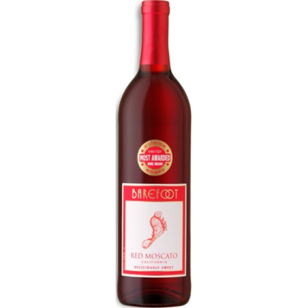 Barefoot Cellars Red Moscato   750ml