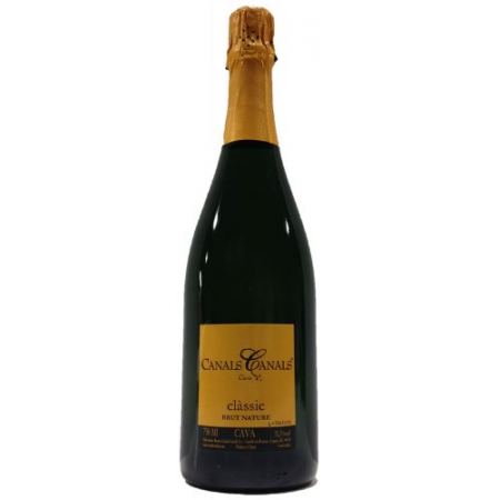 Canals S.A. (Ramon Canals) Canals Cava Classic Brut Nature   750ml