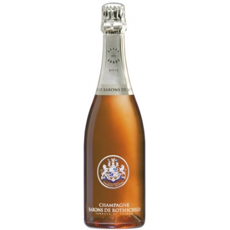 Barons De Rothschild (Lafite) Champagne Brut Rose   750ml