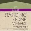 Standing Stone Merlot  2008 750ml