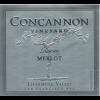 Concannon Vineyard Merlot Reserve   750ml