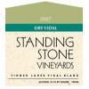 Standing Stone Vidal Semi Dry  2013 750ml