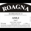Roagna Barbaresco Asili Vv  2008 750ml
