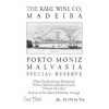 Rare Wine Co Historic Series Porto Moniz Malvasia  NV 750ml