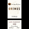 Oremus Tokaji Late Harvest Botrytis  2012 375ml