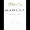 Bodegas Vina Magana Merlot  2009 750ml
