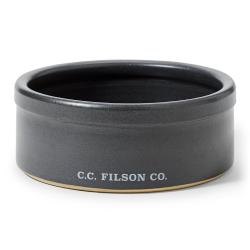 Filson Stoneware Dog Bowl - FadedBlack