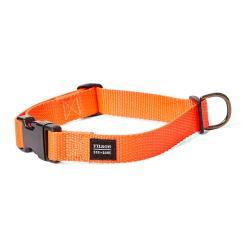 Filson Nylon Dog Collar - L - BlazeOrang