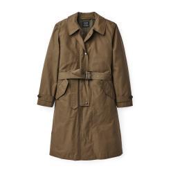 Filson Women's Sawyer Trench Coat - Women's - L - MarshOlive