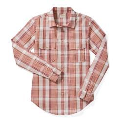 Filson Women's Conway Shirt - Women's - M - ClyMauvCrm