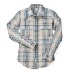 Filson Women's Conway Shirt - Women's - S - CrmNvyOrc