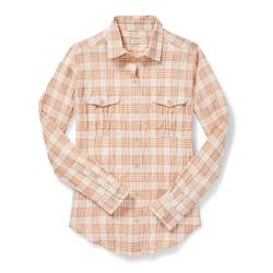 Filson Women's Kadin Island Shirt - Women's - XL - WhiteTan