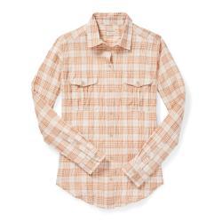 Filson Women's Kadin Island Shirt - Women's - L - WhiteTan