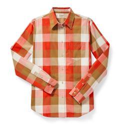 Filson Women's Hyland Shirt - Women's - XL - RdTanCrm