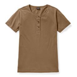 Filson Women's Whidbey Henley T-Shirt - Women's - M - DarkTa