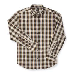 Filson Sutter Sport Shirt - Men's - M - BlkCrmOchr