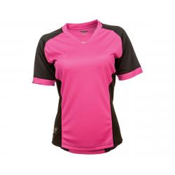 Fly Racing Lilly Ladies Jersey (Black/Pink) (XS) - 356-6118XS