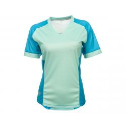 Fly Racing Lilly Ladies Jersey (Turquoise) (XS) - 356-6119XS