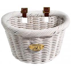 Nantucket Bike Basket Nantucket Cruiser Front Basket (White) (D-Shape) - N/003/A