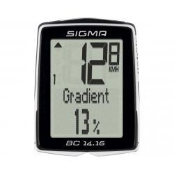Sigma BC 14.16 Bike Computer (Black) (Wired) - 01416