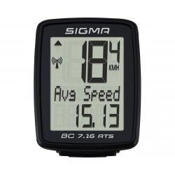 Sigma BC 7.16 ATS Bike Computer (Black) (Wireless) - 07162