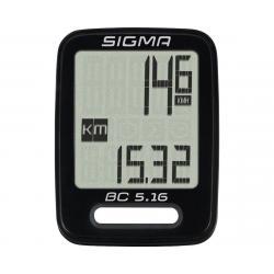 Sigma BC 5.16 Bike Computer (Black) (Wired) - 05160