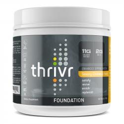 Thrivr Foundation Chicken and Herb Enhanced Sipping Broth with Collagen Peptides and MCT Oil