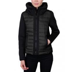 Women's Scuba-Stretch Hybrid Jacket - Black