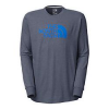 The North Face Mens Long-Sleeve Half Dome Tee - Closeout