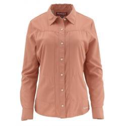 Simms Isle Long Sleeve Shirt - Light Coral - XS