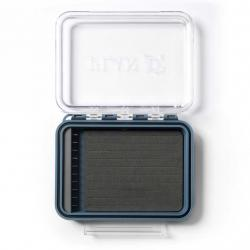 PlanD Pocket Articulated Fly Box - Blue and Clear - One Size